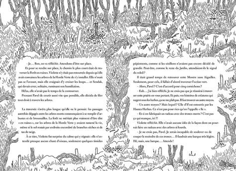 Violette Hurlevent et le jardin sauvage