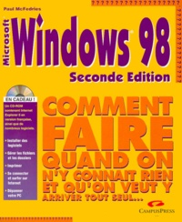 Galabria.be WINDOWS 98. Avec CD-Rom, 2ème édition Image