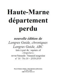 Paul Melchior - Haute-Marne département perdu.