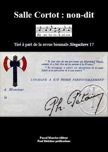 Paul Melchior - Salle Cortot : non-dit.