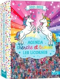 Paul Moran et Adrienn Greta Schönberg - Agenda cherche et trouve les licornes.