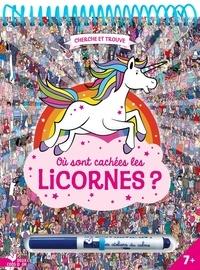 Paul Moran - Où sont cachées les licornes ? - Avec un feutre effaçable.