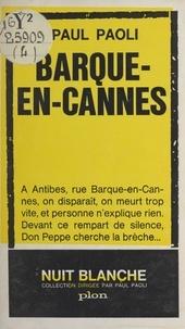 Paul Paoli - Barque-en-Cannes.