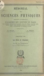 Paul Poincelot et  Académie des sciences de Paris - Les filtres de fréquences.