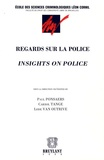 Paul Ponsaers et Carrol Tange - Regards sur la police - Edition bilingue Français-Anglais.