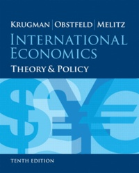 Paul R. Krugman et Maurice Obstfeld - International Economics: Theory and Policy.