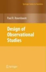 Paul R. Rosenbaum - Design of Observational Studies.
