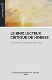 Paul Rateau et Eric Marquer - Leibniz lecteur critique de Hobbes.