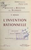 Paul Renaud - L'invention rationnelle - Bibliographie et analyses d'ouvrages.