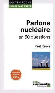Galabria.be Parlons nucléaire en 30 questions Image