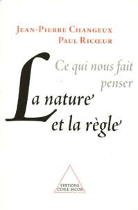 CE QUI NOUS FAIT PENSER. La nature et la règle.pdf