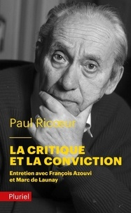 La critique et la conviction.pdf
