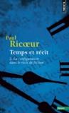 Paul Ricoeur - TEMPS ET RECIT. - Tome 2, La configuration dans le récit de fiction.