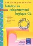 Paul Rougier et Roger Rougier - Initiation au raisonnement logique CE.