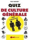 Paul Saegaert - Quiz de culture générale aux toilettes.
