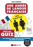 Paul Saegaert - Une année de langue française aux toilettes.