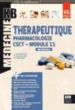 Paul Schwartz et Patricia Alexeline - Thérapeutique Pharmacologie module 11 CSCT.