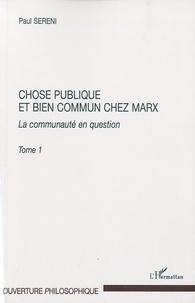 Satt2018.fr Chose publique et bien commun chez Marx - La communauté en question, tome 1 Image