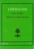 Paul Sigrist - Libermann.
