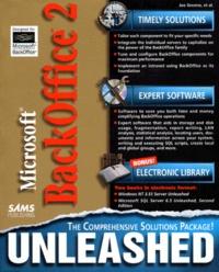 MICROSOFT BACK OFFICE 2. Unleashed, avec un CD-ROM, édition en anglais - Paul Thomsen | Showmesound.org