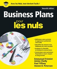 Paul Tifanny et Amine Chelly - Business plans pour les nuls.
