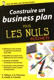 Paul Tiffany et Steven-D Peterson - Construire un business plan pour les nuls business.