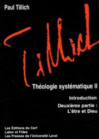 Théologie systématique - 2ème partie, Lêtre et Dieu.pdf