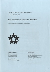Paul Van Praag - Les nombres décimaux illimités.