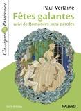 Paul Verlaine - Fêtes galantes suivi de Romances sans paroles.