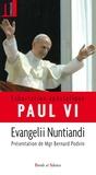 Paul VI Pape - Evangelii Nuntiandi : Exhortation apostolique.