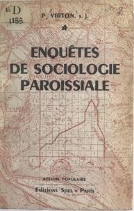 Paul Virton - Enquêtes de sociologie paroissiale.