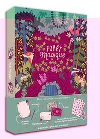 Paula McGloin - Forêt magique - Contient : du papier à lettres, un crayon, 15 enveloppes, 15 cartes, des autocollants, des confettis.