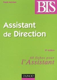 Paula Mendes - Assistant de direction.