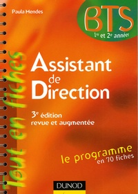 Assistant de direction - Paula Mendes |