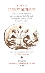 Paule Adamy - Le petit cabinet de Priape.