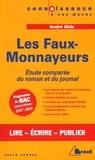 Paule Andrau - Les Faux-Monnayeurs, André Gide - Etude comparée du roman et du journal.