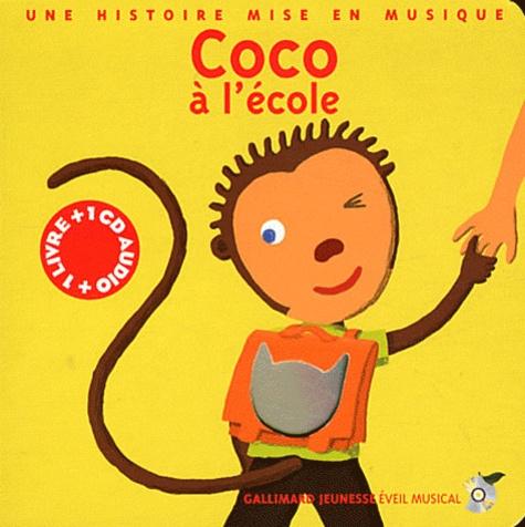 Paule Du Bouchet - Coco à l'école. 1 CD audio