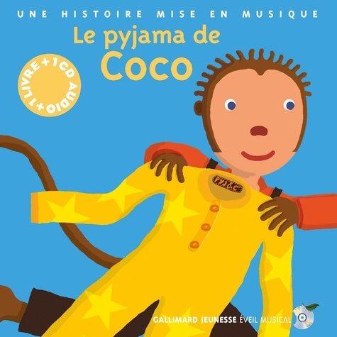 Le pyjama de Coco  avec 1 CD audio