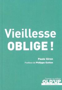 Paule Giron - Vieillesse oblige !.