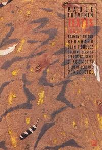 Paule Thévenin - Textes (1962-1993).