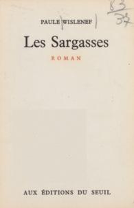Paule Wislenef - Les sargasses.