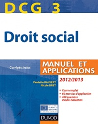 DCG 3 Droit social - Manuel et Applications.pdf
