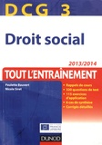 Paulette Bauvert et Nicole Siret - DCG 3 Droit social - Tout l'entraînement.