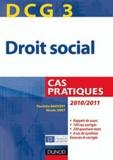Paulette Bauvert et Nicole Siret - Droit social DCG 3 - Cas pratique.