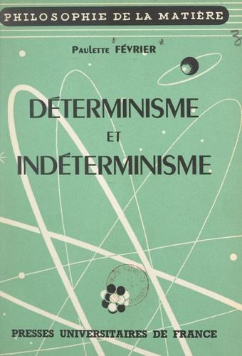 Déterminisme et indéterminisme