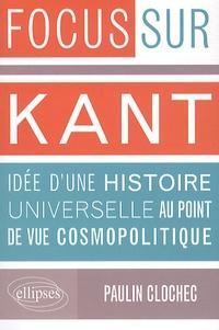 Histoiresdenlire.be Kant, Idée d'une histoire universelle au point de vue cosmopolitique Image