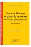 Paulin Hounsounon-Tolin - Droits de l'homme et droits de la femme - Regard historique, philosophique et politique ou évidence d'une secondarité.