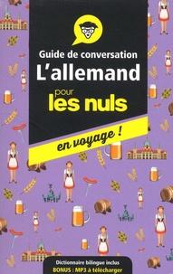 Paulina Christensen et Anne Fox - L'allemand pour les nuls en voyage ! - Guide de conversation.