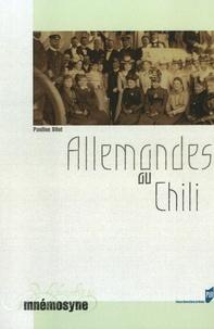 Pauline Bilot - Allemandes au Chili.