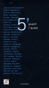 Pauline Bureau et Adrien de Van - 5 minutes avant l'aube.